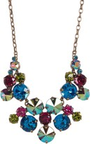 Sorrelli Round Cluster Crystal Collar Necklace