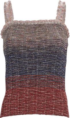 Missoni Ruffled Knit Tank Top