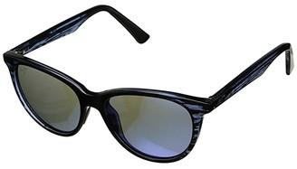 Maui Jim Cathedrals (Blue Black Stripe/Blue Hawaii) Sport Sunglasses