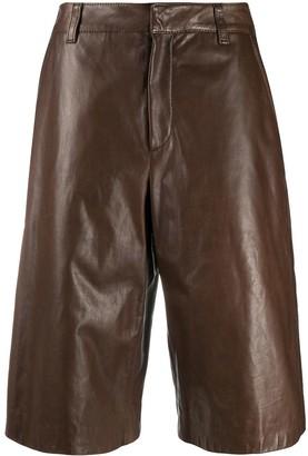 Brunello Cucinelli Wide-Leg Biker Shorts