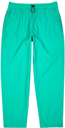Kenzo Turquoise cotton sweatpants