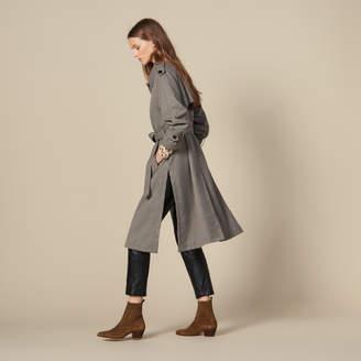 SandroSandro Trench coat with side slits