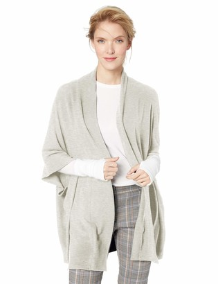 Cupcakes And Cashmere Women's bregan Brushed Knot Dolman Sleeve Cardigan