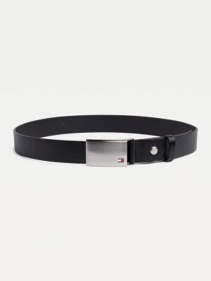 Tommy Hilfiger Adjustable Logo Plaque Belt