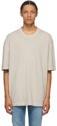 Maison Margiela Grey Resin Garment Dyed T-Shirt