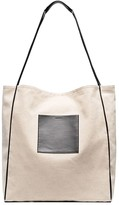 Jil Sander pocket-detailed tote