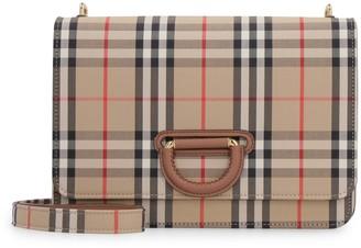 Burberry D-ring Check Crossbody Bag