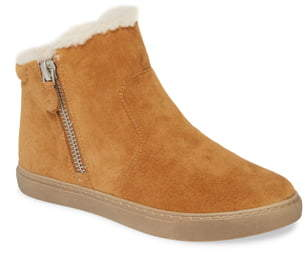 Kenneth Cole Gentle Souls by Carter Genuine Shearling Lined Bootie
