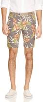 Jet Lag Jetlag Belted Floral Shorts