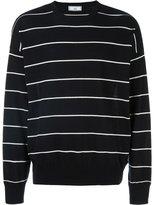 Ami Alexandre Mattiussi striped oversize sweater - men - Cotton - M