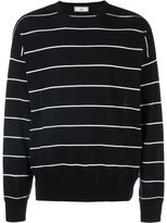 Ami Alexandre Mattiussi striped oversized sweater - men - Cotton - M