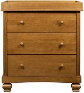 DaVinci Clover 3-Drawer Changer Dresser in Chestnut