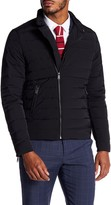 Scotch & Soda Quilted Front Zip Jacket