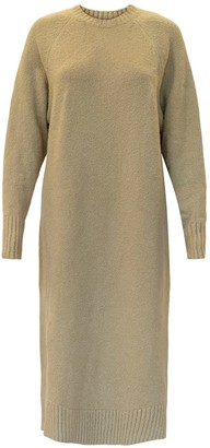 Helder Antwerp Sweater Dress Organic Cotton Beige
