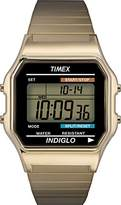 Timex Men's T78677 Classic Digital Stainless Steel Expansion Band Watch