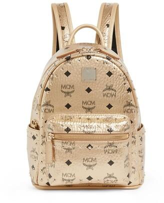 MCM Mini Studded Stark Backpack