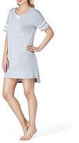 Kensie Varsity Oversized Jersey Sleepshirt