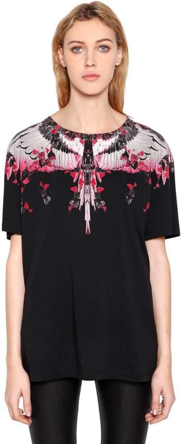 Marcelo Burlon County of Milan Kolpoke Printed Cotton Jersey T-Shirt
