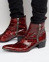 Jeffery West Sylvian Zip Boots