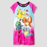Girls' Pokemon Nightgown - Pink