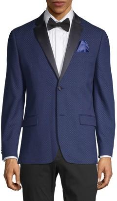 Ben Sherman Diamond-Weave Dinner Jacket