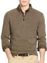 Polo Ralph Lauren Cashmere Half Zip Sweater