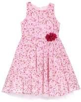 Frais Floral Print Chiffon Dress