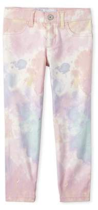 Children's Place The Girls 6-16 Tie Dye Twill Pants