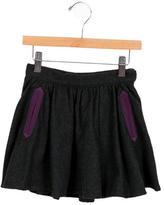 Little Marc Jacobs Girls' Herringbone A-Line Skirt