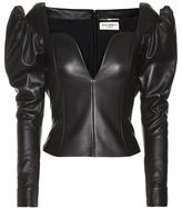 Saint Laurent Leather Top
