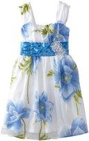 Amy Byer Girls 7-16 Flower Dot Party ...