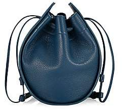 The Row Women's Drawstring Leather Pouch