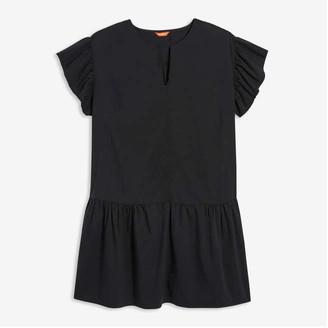 Joe Fresh Women+ Drop Waist Dress, JF Black (Size 2X)