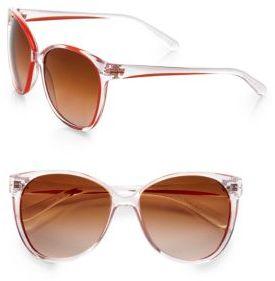 Tory Burch Vintage-Inspired Cat's-Eye Sunglasses