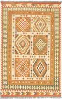 "Ecarpetgallery Hand-woven Hereke Kilim Geometric 5'3"" x 8'3"" 100% Wool area rug"
