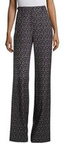 Rebecca Taylor Dragonfly Wide-Leg Pants