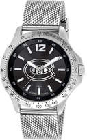 Game Time Men's Cage Series NHL - Montreal Canadiens Analog Watches