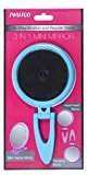 Swissco 3 in 1 Mini 5X Maginiying Mirror with Folding Arm or Stand, Blue
