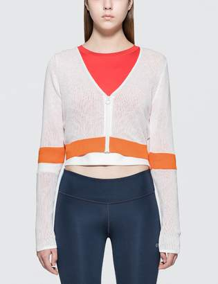 Calvin Klein Color Block Crop Jacket