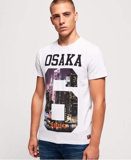 Superdry Osaka Photographic Emboss T-Shirt