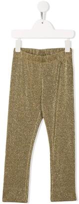 Simonetta Glitter Detail Trousers