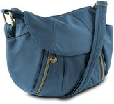 Travelon Anti-Theft Front Zip Hobo Bag with RFID Protection