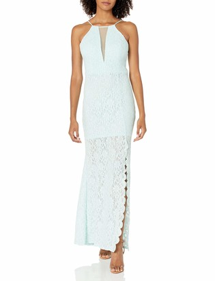 Jump Junior's Lace Halter Gown
