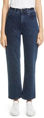 Rag & Bone Ruth High Waist Ankle Straight Leg Jeans