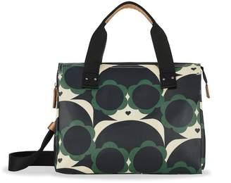 Orla Kiely Watson Messenger Bag, Jade