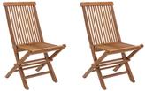 ZUO Regatta Folding Chairs (Set of 2)