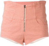 Isabel Marant high waisted shorts - women - Cotton - 36