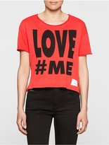 Calvin Klein Love#me Boxy Fit T-Shirt