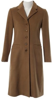 Prada Camel Cashmere Coats