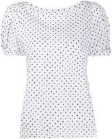 FEDERICA TOSI geometric print slim-fit T-shirt